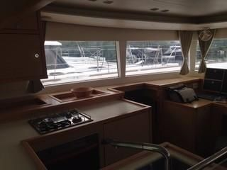 Lagoon 450F Catamaran Galley